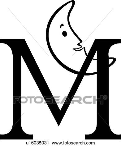 clipart of alphabet capital child kid kid s letter lettered rh fotosearch com letter m objects clipart letter m clipart free