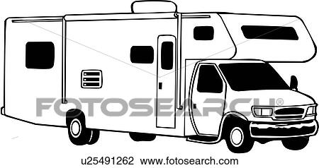 Camper Mini Motorhome Recreation Recreational Rv Vehicle Automobile