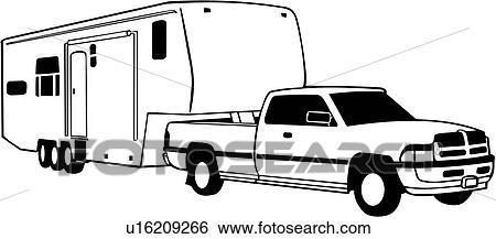 Camping Car Dessin clipart - campeur, cinquième, récréation, récréatif, camping car