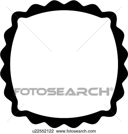 Clipart of , blank, border, fancy, frame, sign, square, panel ...