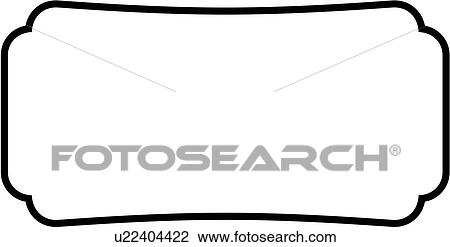 clipart of sign basic blank border rectangle panel shapes rh fotosearch com blank sign clipart free blank wooden sign clipart