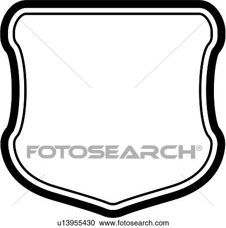clipart of sign basic blank border shield panel shapes rh fotosearch com blank sign clipart free blank wooden sign clipart