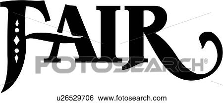 clip art of business sign fair lettering sign signs word