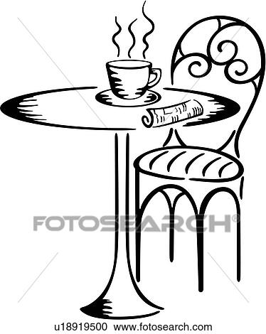 Java Bristo Cafe Coffee Cup Drink Table Bistro Clipart U18919500
