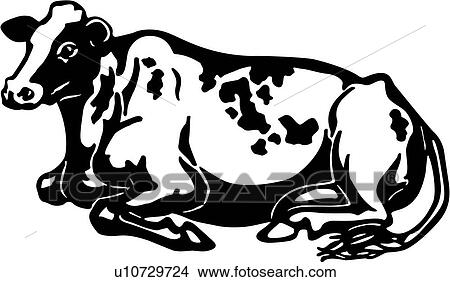 Clipart Of Cattle Animal Breeds Cow Farm Holstein Livestock