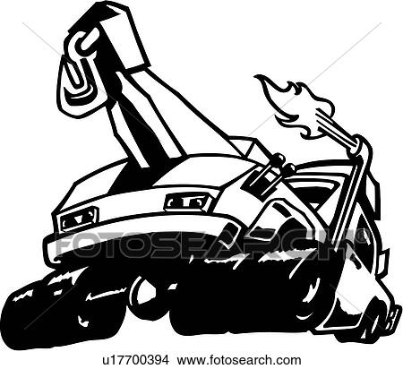 99 The Tow Truck Drawing Learn How