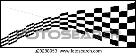 Auto Racing Graphic Checker Checkered Flag Nascar Race Racer Racetrack Speed Sport