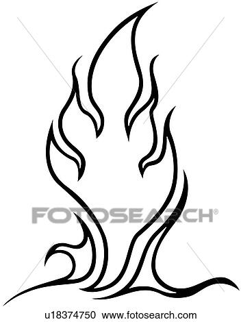 Flame Vehicle Graphics Graphic Vehicle Hot Lix Clipart