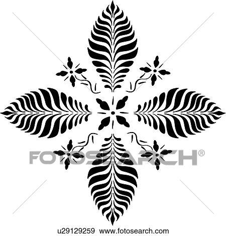 , amish, dutch, floral, folk art, holland, netherlands, pennsylvania,  starburst, Clip Art