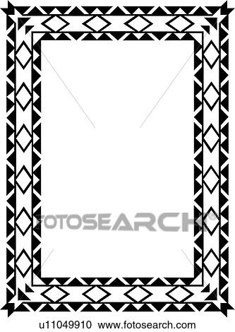, blank, border, diamond, fancy, frame, geometric ...