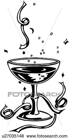 champagne holiday new year new years eve u27035148 valueclips clip art