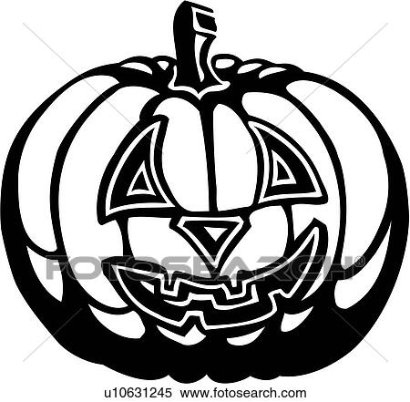 Halloween Holiday Jackolantern Lantern Clipart
