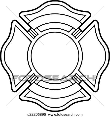 clipart of chief cross crosses department emergency emergency rh fotosearch com fire department clip art cross fire department clip art cross