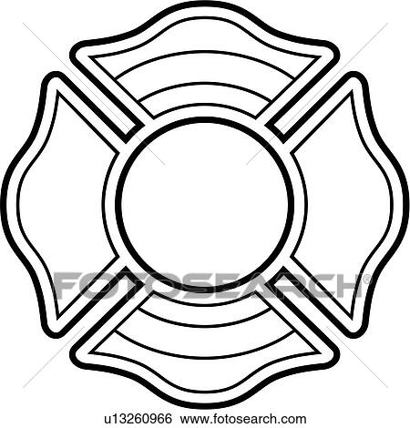 clip art of cross crosses department emergency emergency rh fotosearch com fire station clipart fire department clip art free