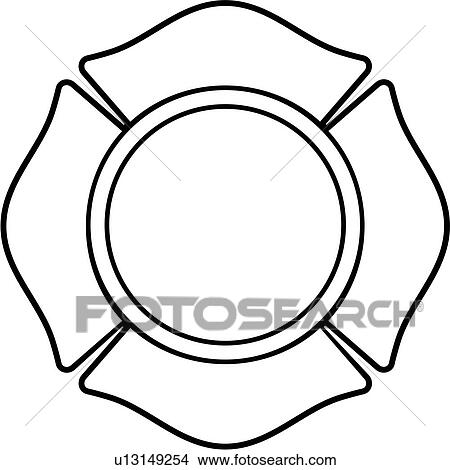 clipart of cross department emergency emergency services fire rh fotosearch com fire department clip art images fire department clipart black and white