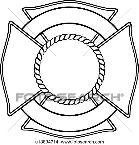 clipart of cross department emergency emergency services fire rh fotosearch com fire department clip art cross fire station clipart