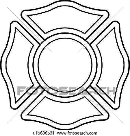 clipart of cross department emergency emergency services rh fotosearch com fire department clipart fire department clipart free