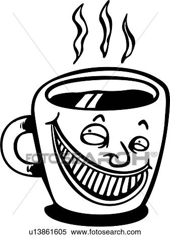 clipart dessin anim caf grande tasse caf boisson chaud java grande tasse wacky. Black Bedroom Furniture Sets. Home Design Ideas