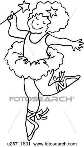 Ballerina Child Children Dance Happy Kid Play Playful