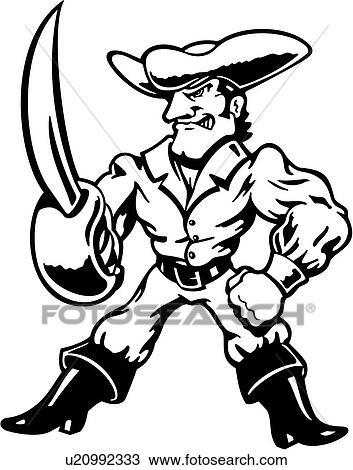ブーツ 海賊 漫画 漫画 マスコット マスコット 筋肉 海洋 海賊