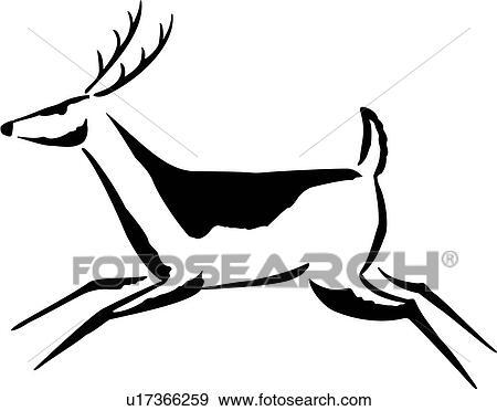 c5c55c1ec4fb8 Clip Art Of Animal Deer Native Southwest U17366259 Search