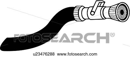 clip art of department emergency emergency services fire fire rh fotosearch com firefighter hose clipart fire hose clipart png