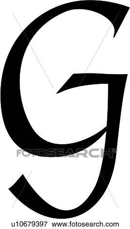alphabet block calligraphy capital chisel g letter script uppercase