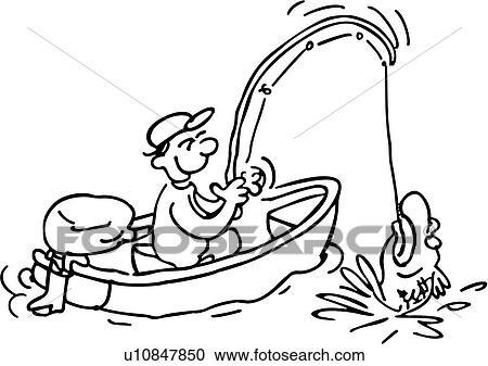 Cartoon Fisherman People Action Cartoons Sport U10847850 ValueClips Clip Art