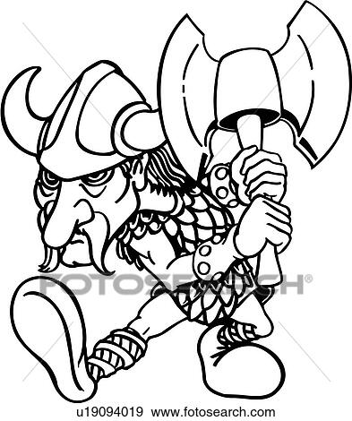 clip art of ax viking warrior weapon cartoons cartoon people rh fotosearch com warrior clipart free warrior clipart black and white