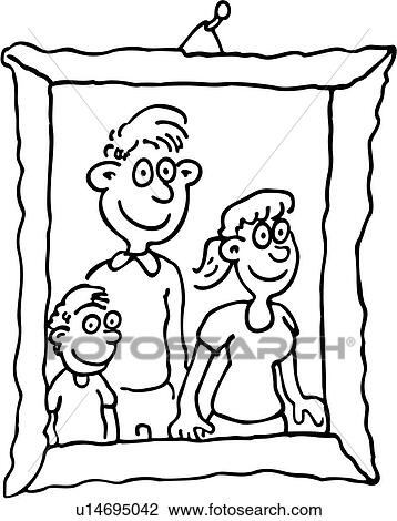 Boy Cartoons Child Children Dad Daddy Daughter Family Father Frame Girl Kid People Photo Picture Portrait Son