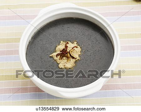 Stock photograph of food vase decoration vassel flower for Poster deco cuisine