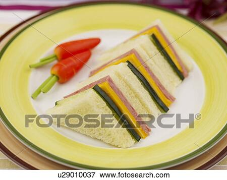 Picture of food plate decoration food styling carrot for Poster deco cuisine