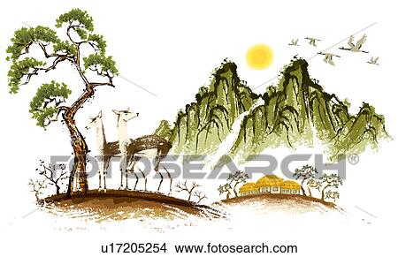 Kresby Skica O 2 Srnec U17205254 Hledat Klipartove Ilustrace