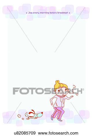 Stock Illustration of Image Dictionary, illustration, background ...
