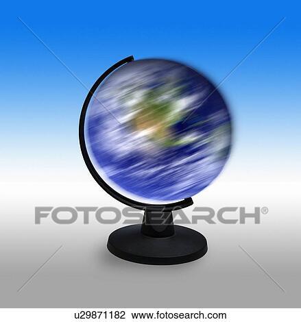 clip art of spinning globe u29871182 search clipart illustration