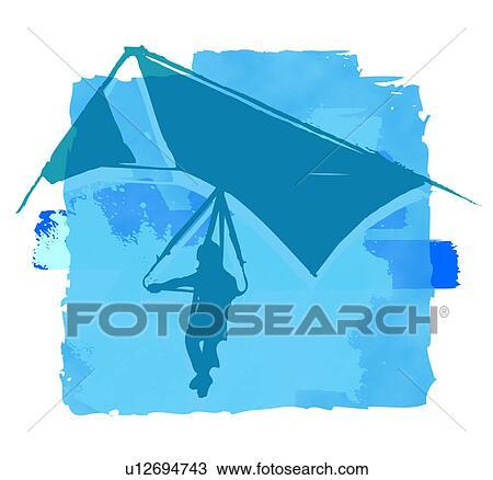 zeichnung fall segelflugzeuge u12694743 suche clipart