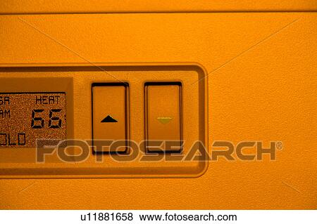 Stock Illustration Of Thermostat Detail U11881658 Search Eps Clip