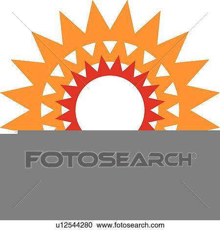 stock illustrations of graphic sunburst u12544280 search clipart rh fotosearch com sunburst clip art vector free sunburst clipart vector