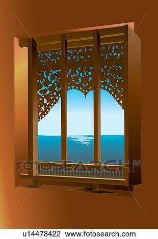 Idees Cadre Fenetre Decor Interieur Maison Ciel Interieur Dessin