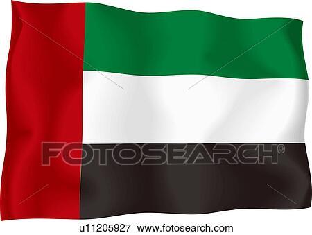 stock illustration of united arab emirates flag u11205927 search