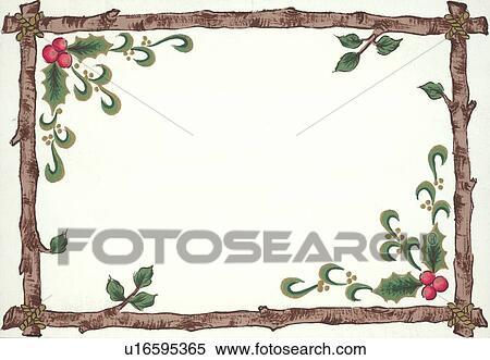 Stock Illustration Weihnachten Rahmen U16595365 Suche Clipart
