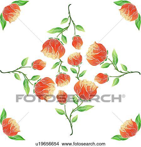 Dessins mod le fleur plante mod le tige fleur - Modele dessin fleur ...