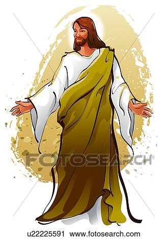 clipart of jesus christ blessing u22225591 search clip art rh fotosearch com jesus christ clipart lds jesus christ clipart images