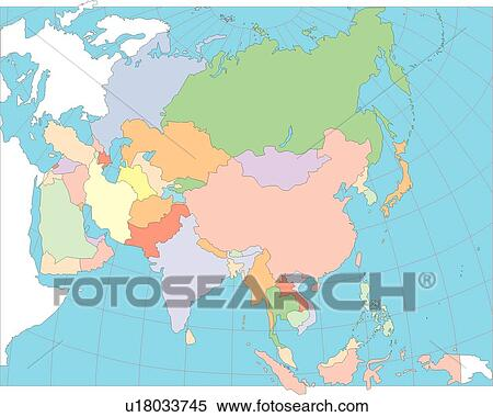 stock illustration of continents country globe map illustration