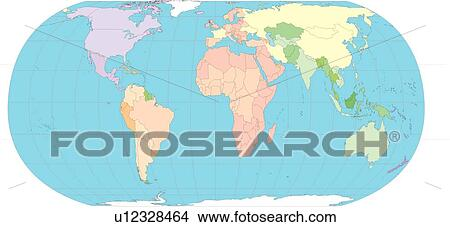 Drawings of continents world illustration world map sea country continents world illustration world map sea country globe gumiabroncs Images