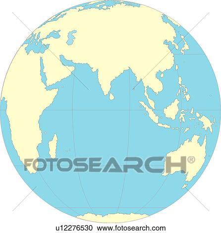 Stock illustrations of map countries globe continents world map countries globe continents world equatorial line sea gumiabroncs Choice Image
