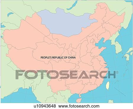 China World Countries Country Continents Globe Middle Kingdom Stock Illustration U10943648 Fotosearch
