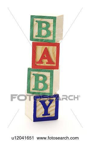 Banques de photographies jouet bois alphabet cubes - Jouet alphabet ...