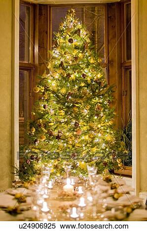 christmas decorations and tree dinnerware montreal quebec canada