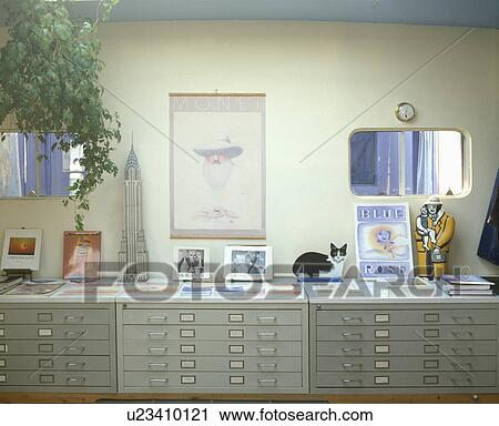 Low Metal Filing Cabinets In Modern
